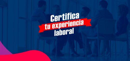 certifica tu experiencia laboral