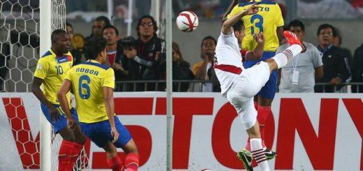 Perú vs. Ecuador: se enfrentan por la Copa América Centenario 2016