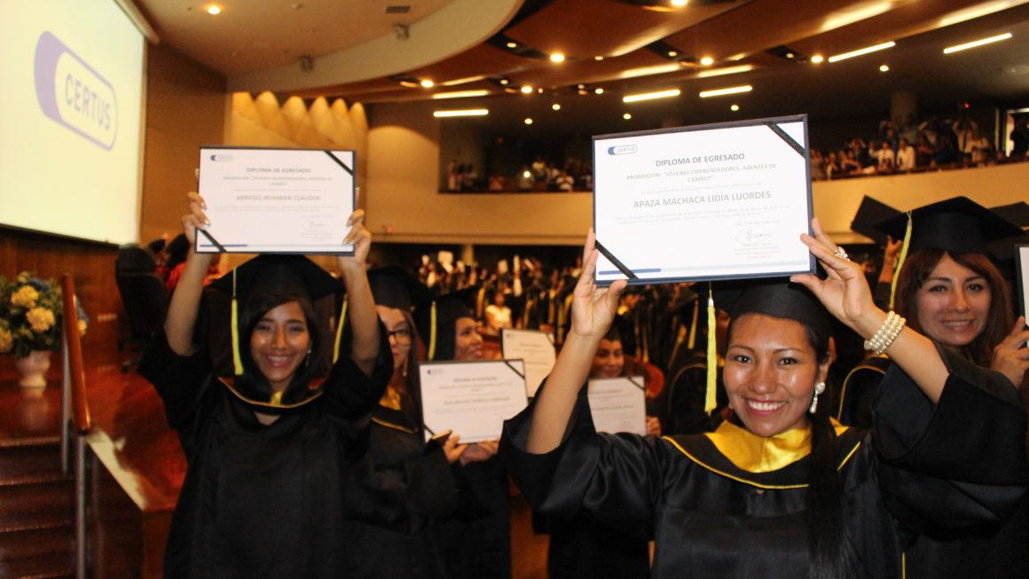 ¡Graduación CERTUS!