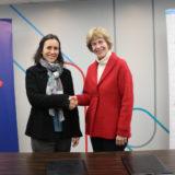 CERTUS y el BCP ratificaron su compromiso por la educación de nuestro país con la firma del convenio para poner en marcha el Programa de BECAS de la entidad bancaria. La firma del mismo, tuvo como protagonistas a nuestra gerente general Inés Althaus