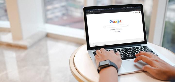 algoritmo google laptop