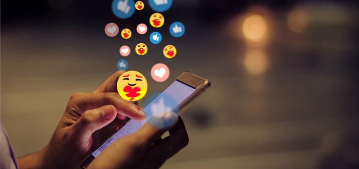 celular redes sociales